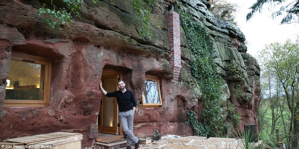 man rebuild 700 year old cave